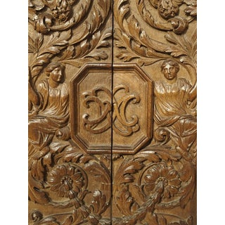 Pair of 17th Century Renaissance Style Carved Panels From France Preview