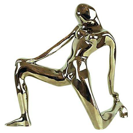 1980s Jaru Chrome Abstract Nude Figure For Sale In Las Vegas - Image 6 of 6
