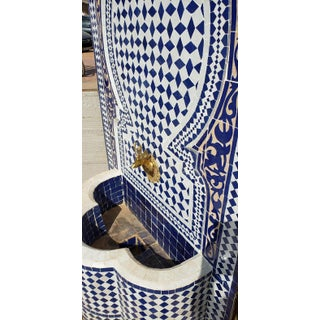 Moroccan Mosaic Blue Fountain Preview