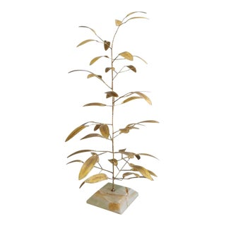 Mid 20th Century Modern Metal Tree Sculpture For Sale