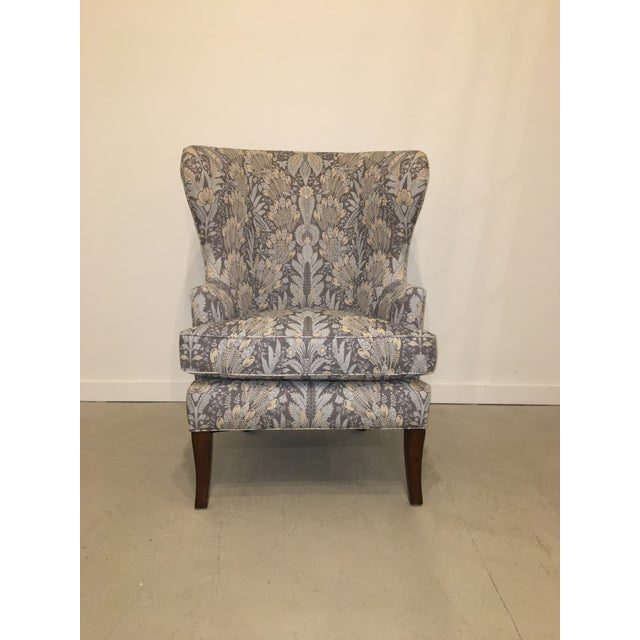 Vintage Wingback Chair For Sale - Image 10 of 10 - Exquisite Vintage Wingback Chair DECASO
