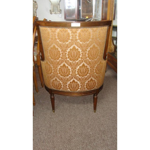 1940s Pair of Louis XXI Style Armchairs by Maison Jansen For Sale - Image 5 of 8