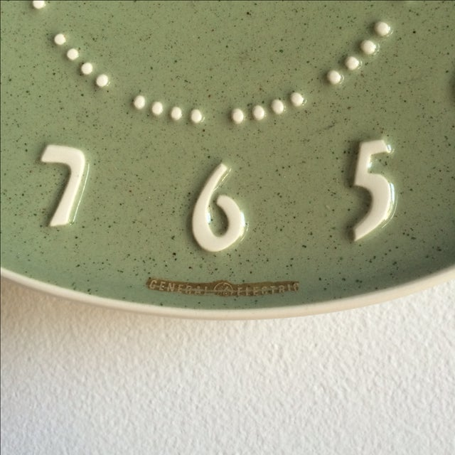 Russell Wright for GE Ceramic Clock - Image 5 of 7