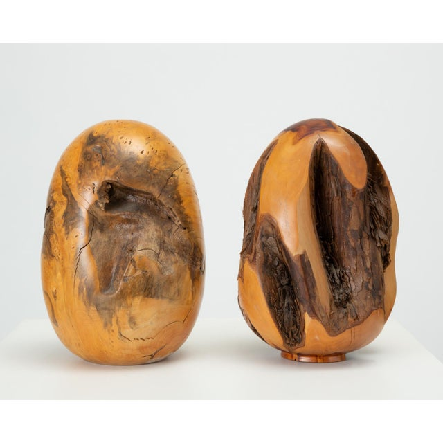Single Turned Wood Object by Chuck McLaughlin For Sale - Image 13 of 13
