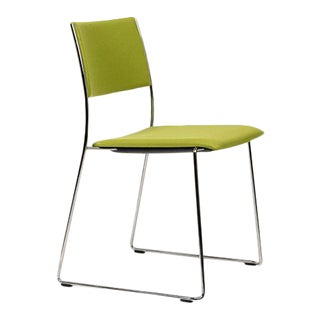 Dietiker Tila Upholstered Dining Chair in Beech Wood Designed by Christoph Hindermann For Sale