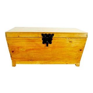 Vintage Primitive Wooden Chest