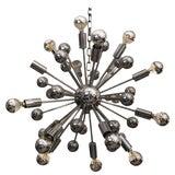 Image of Mid-Century Chrome Sputnik Chandelier For Sale