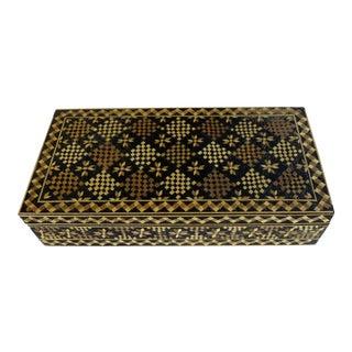 Vintage Albanian Keepsake Box For Sale