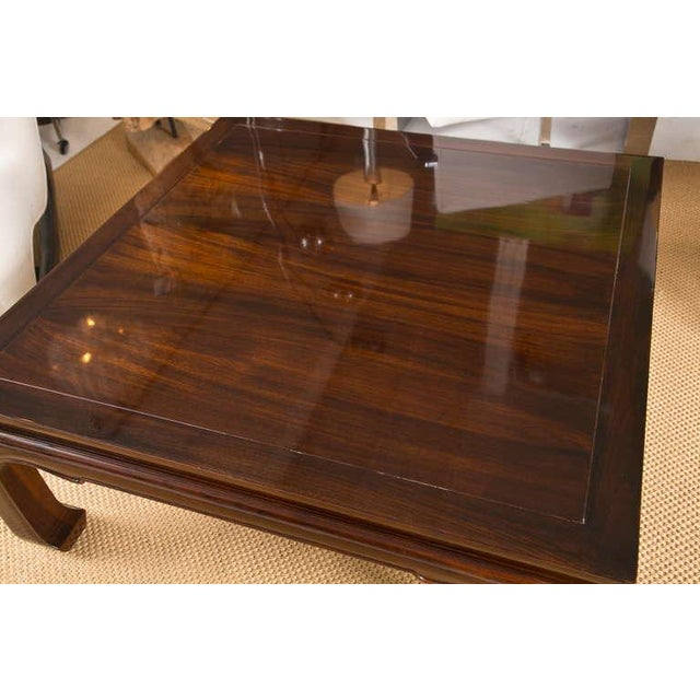 Mid-Century Coffee Table in the Style of Michael Taylor - Image 4 of 7