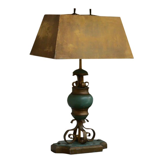Mexican Modernist Hollywood Regency Table Lamp For Sale