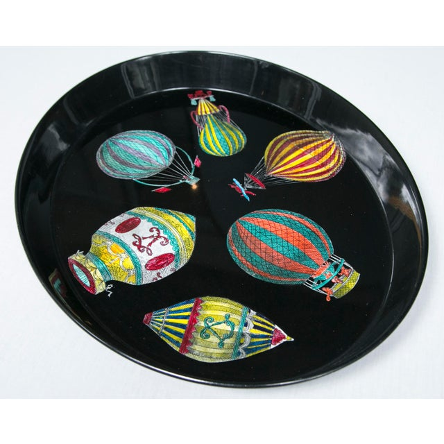 Piero Fornasetti Hot Air Balloon Tray For Sale - Image 7 of 8