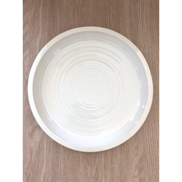 White Large Pottery Barn Platter For Sale - Image 8 of 8