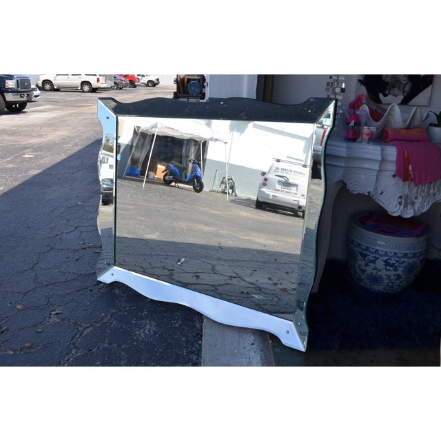 Early 21st Century Scalloped Venetian Wall Mirror For Sale - Image 5 of 13