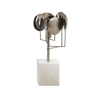 Modern Stainless Steel and Modern Sun Lamp For Sale