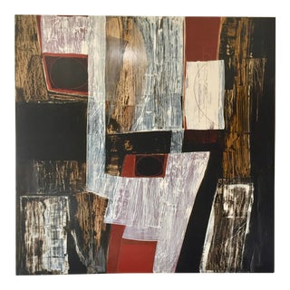 "Original Contemporary Abstract by Rick Griggs ""Shiver Me Timbers"" For Sale"