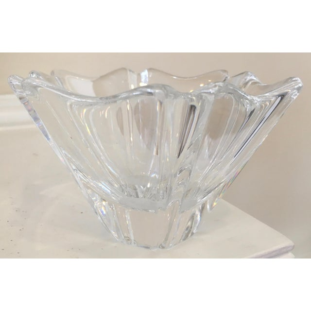 Orrefors Orion Crystal Bowl - Image 3 of 11