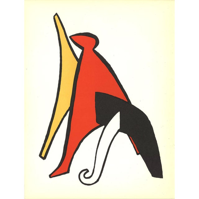 1963 DLM No. 141 Page 10 Lithograph by Alexander Calder - Image 1 of 3