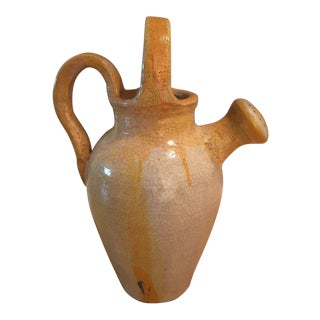 1980s Vintage Ceramic Watering Jug Decor For Sale