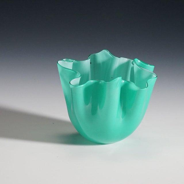 Fulvio Bianconi Vase 'Fazzoletto' for Venini Ca. 1960 For Sale - Image 6 of 9