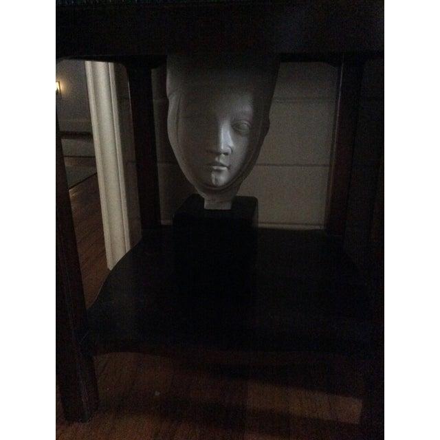 Figurative 1960s Vintage Alva Studios Woman's Head Sculpture For Sale - Image 3 of 11