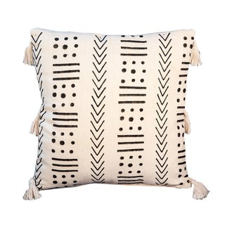 Deepali Black & White Pillow For Sale