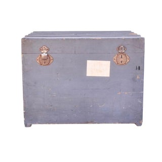 Vintage French Traveling Trunk