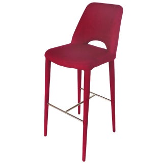 Early 21st Century Upholstered Bar Stool - Multiples Availble For Sale
