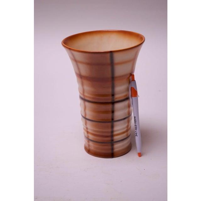 Vintage Erphila Bohemian Art Pottery Vase For Sale - Image 4 of 10