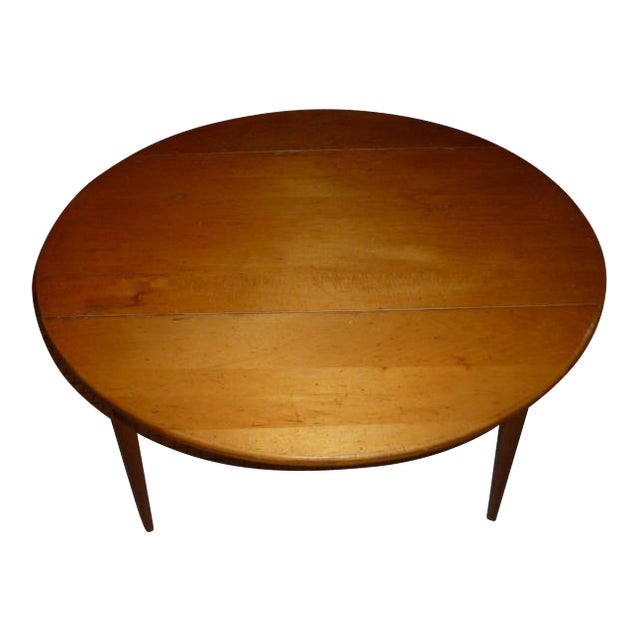 Paul McCobb Maple Dining Table - Image 1 of 6
