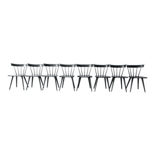 Paul McCobb Ebonized Planner Group Dining Chairs - Set of 8