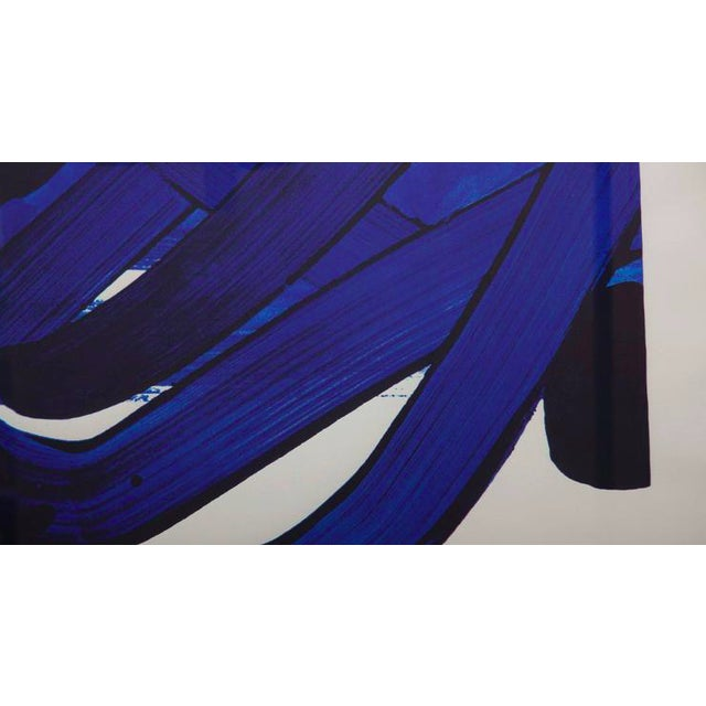 Lithograph by Pierre Soulages (B. 1919) From the Official Arts Portfolio of XXIV Olympiad For Sale - Image 4 of 10