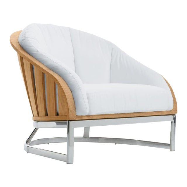 Summit Furniture Picket Lounge Chair-ss Base For Sale