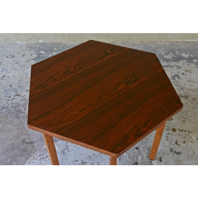 Mid-Century Modern Paul McCobb Delineator Series Rosewood Side Table For Sale - Image 3 of 5