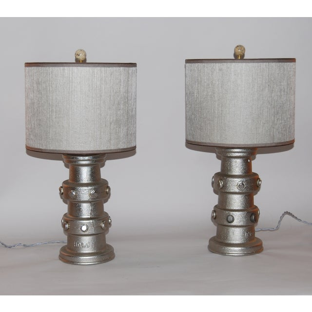 19th Century Carriage Hub Lamps- Pair - Image 2 of 6