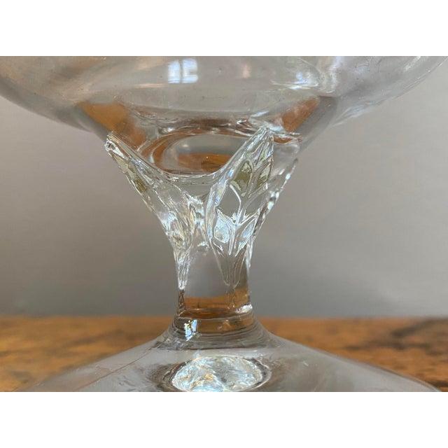 Vintage Crystal Snifter Glasses With Gold Rim - Set of 6 For Sale - Image 4 of 5