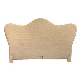 Shoppe De Lee Custom Holly Hunt Frabric Upholstered King Headboard