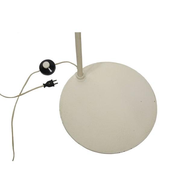 1960s Italian Joe Colombo Style Chrome Floor Lamp For Sale - Image 5 of 5