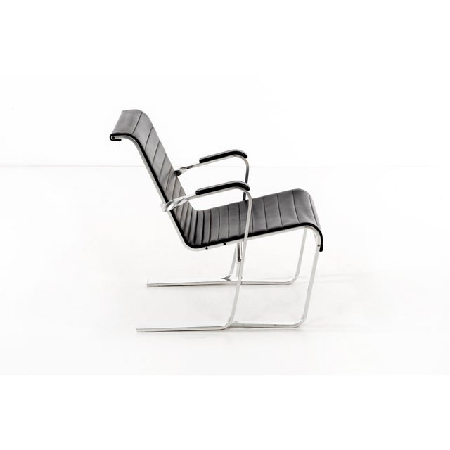 1980s Pair of Marcel Breuer Lounge Chairs For Sale - Image 5 of 13