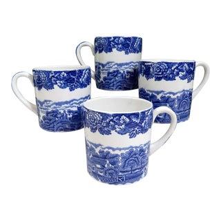 Vintage Wood & Sons Coffee Mugs - Set of 4