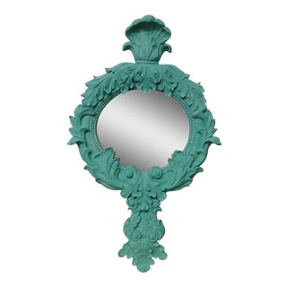 Turquoise Wall Accent Mirror