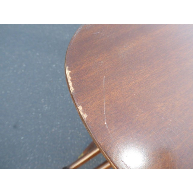 Danish Modern Magazine Rack Side Tables - A Pair - Image 10 of 11
