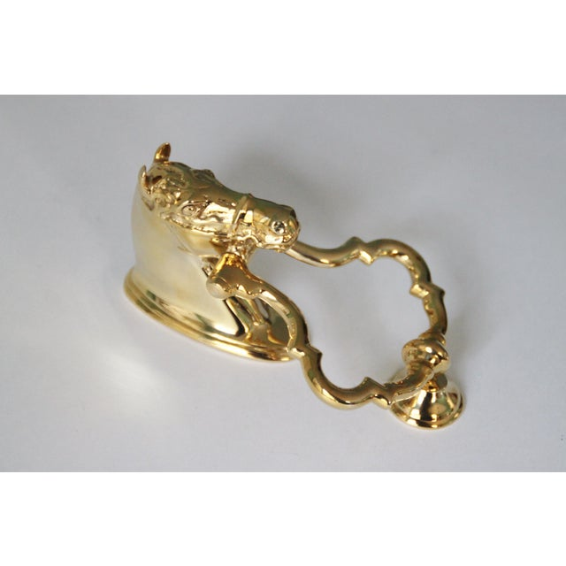 Brass Horse Head Door Knocker - Image 6 of 6