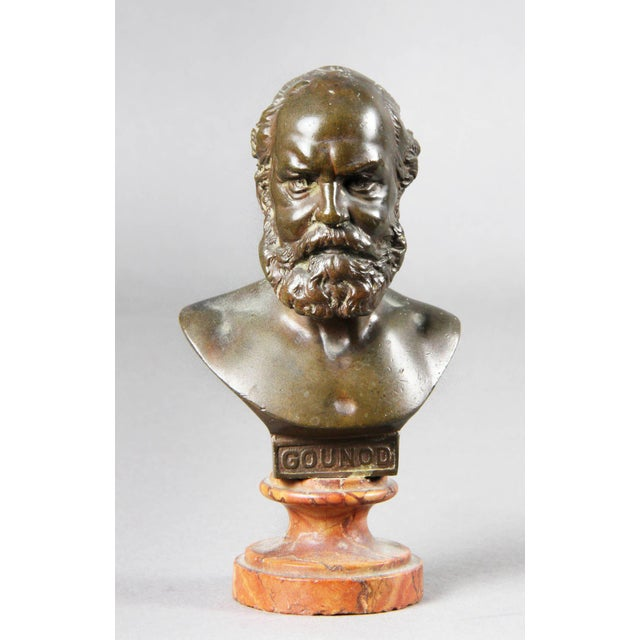 Interesting Collection of Ten Busts of Composers For Sale - Image 4 of 11