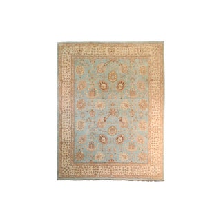 20th Century Chobi Blue Rug - 7′11″ × 9′9″ For Sale
