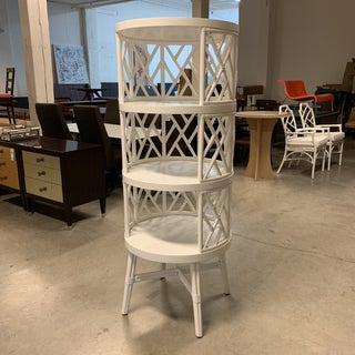 New Made Goods Phelan Circular Closed White Bookcase Preview