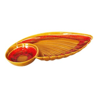 Mid-Century Wing Shaped Serving Dish