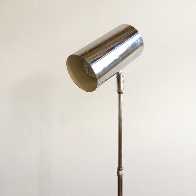 Vintage Mid Century Modern Adjustable Chrome Floor Lamp - Image 5 of 6