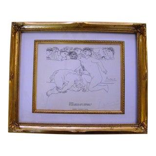 Pablo Picasso Pencil Signed Lithograph