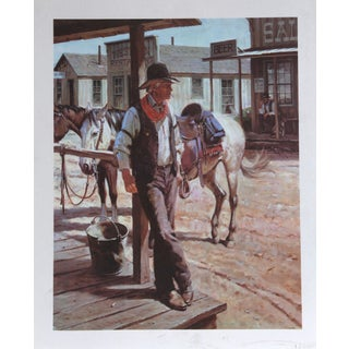 Duane Bryers, Sunday Afternoon, Lithograph For Sale