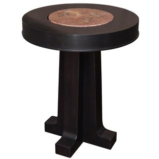 Acquisitions by Henredon Pedestal Table For Sale